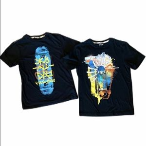 Mossimo Skateboard Graphic Tee Bundle (2)